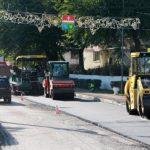 В Балаклаве начали асфальтировать центральную улицу