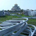 В Севастополе прошёл одиночный пикет против «модернизации» Херсонеса