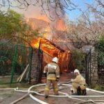 Крымчанка получила ожоги 50% тела в результате хлопка газа