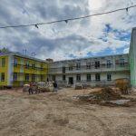 Детский сад за полмиллиарда на улице Хрусталёва готов на 70%