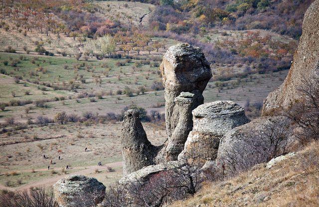 Крым. Демерджи. Долина привидений