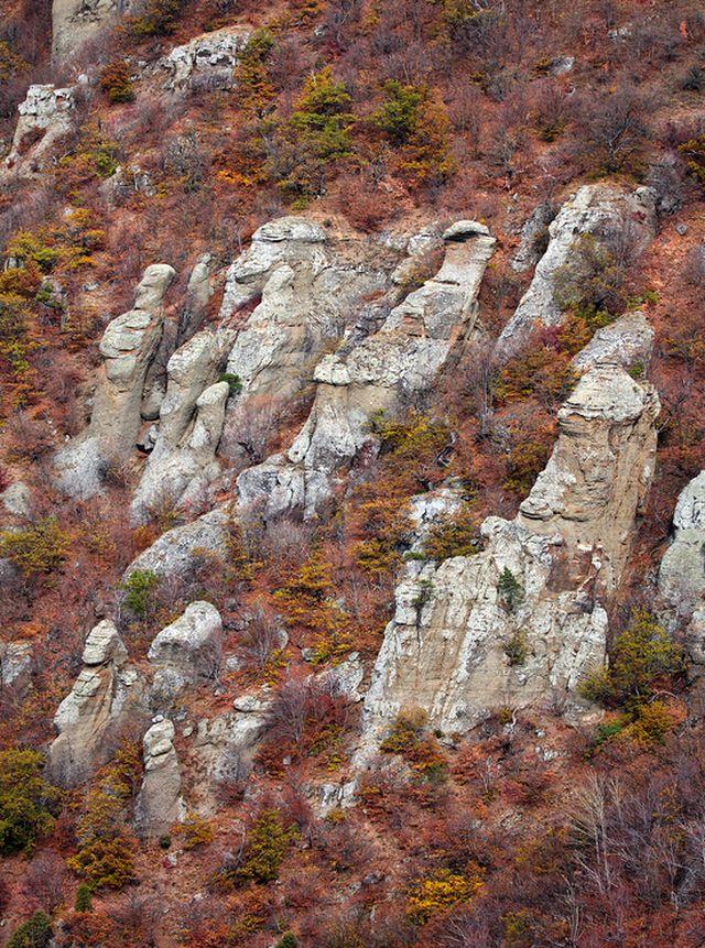 Долина привидений. Крымские горы