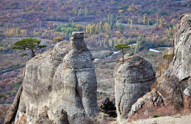 Крым. Горы. Демерджи