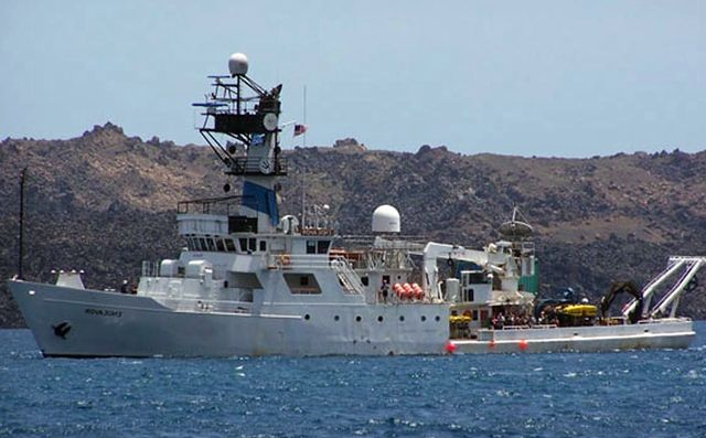 Американское океанологическое судно «Эндевер»