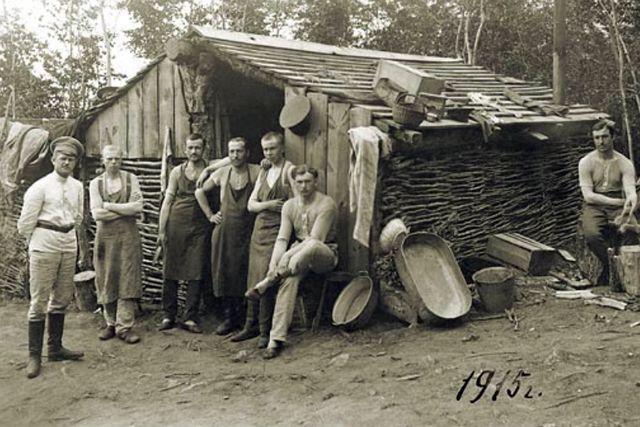 Кузнецы немецкой деревни