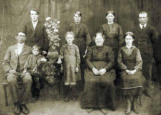 Семья немцев