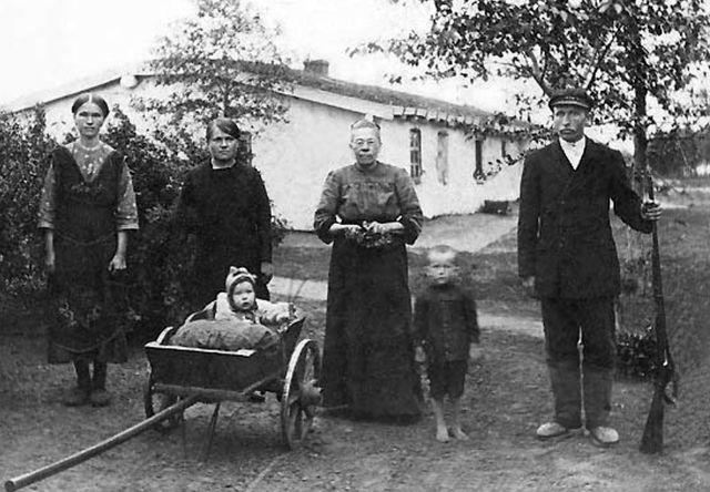 Немцы до депортации