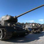 В новогодние праздники на Сапун-горе заводят легендарный Т-34