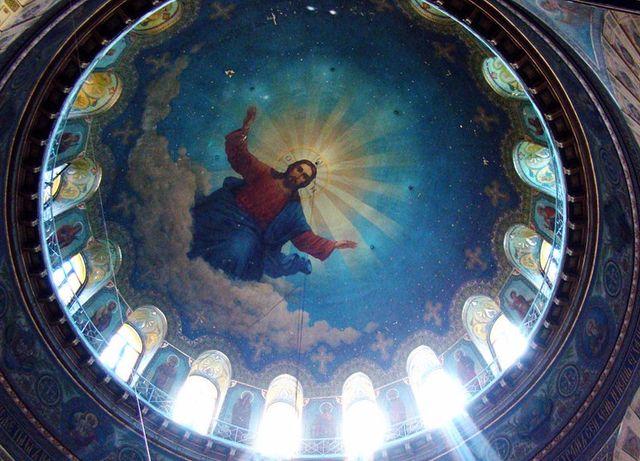 Собор Святого Николая Чудотворца - роспись купола
