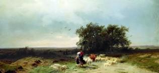 Ф.Васильев «Возвращение стада»