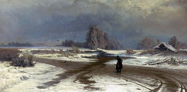 Ф.Васильев «Оттепель»