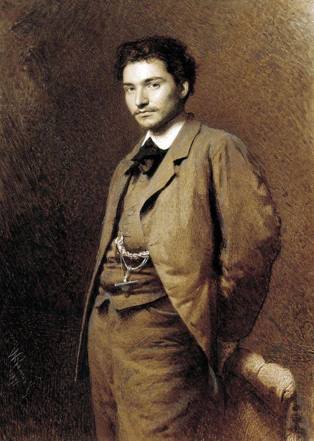 Иван Крамской - портрет Васильева