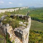 Эски-Кермен: Челтерский монастырь и Сюйренская крепость