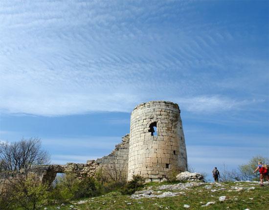 Сюйренская крепость на Эски-Кермен