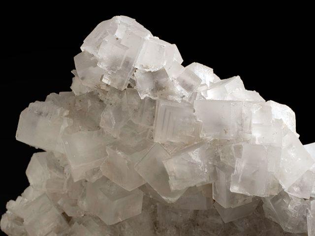 Друза минерала Галит