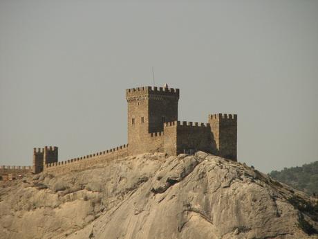 Генуэзская крепость, сентябрь 2007