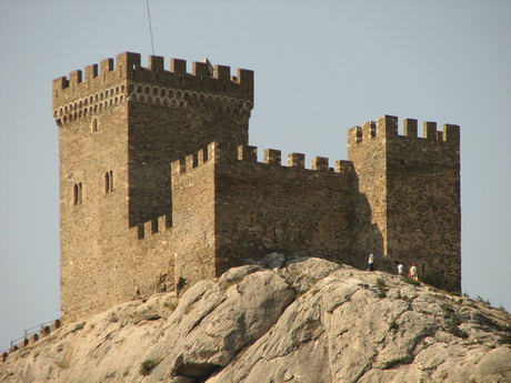 Башни Судакской крепости