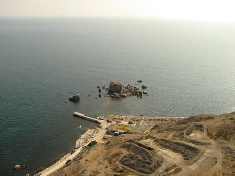Черное море, вид из Генуэзской крепости