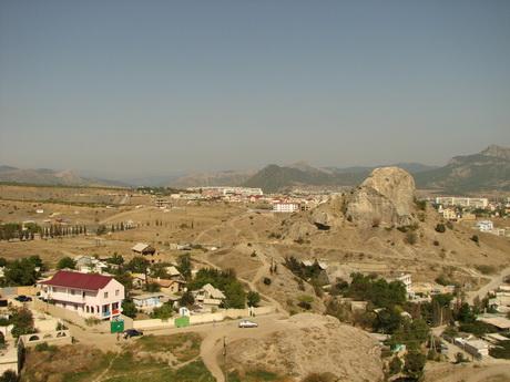 Судак, вид из Генуэзской крепости