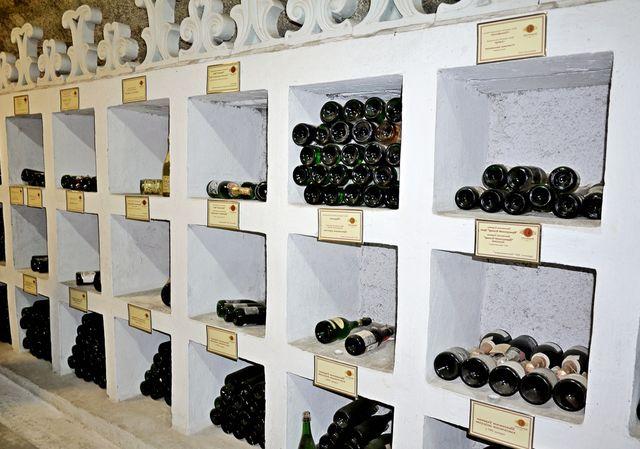 Энотека винзавода в Новом Свете
