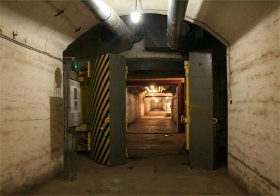 Противоатомные двери объекта ГТС 825