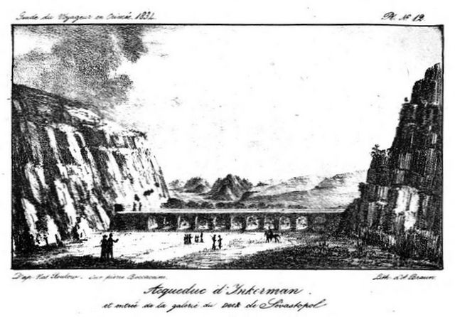 Акведук в Инкермане - иллюстрация к книге