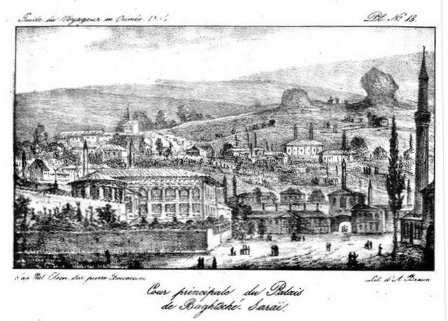Бахчисарайский дворец- иллюстрация к книге