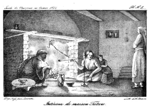 Жилище крымских татар - иллюстрация к книге