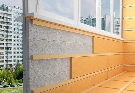 Полноценная замена окон, утепление балкона