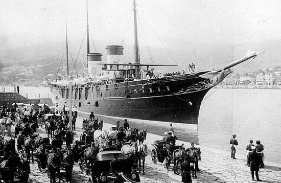 Императорская яхта Штандарт, Крым