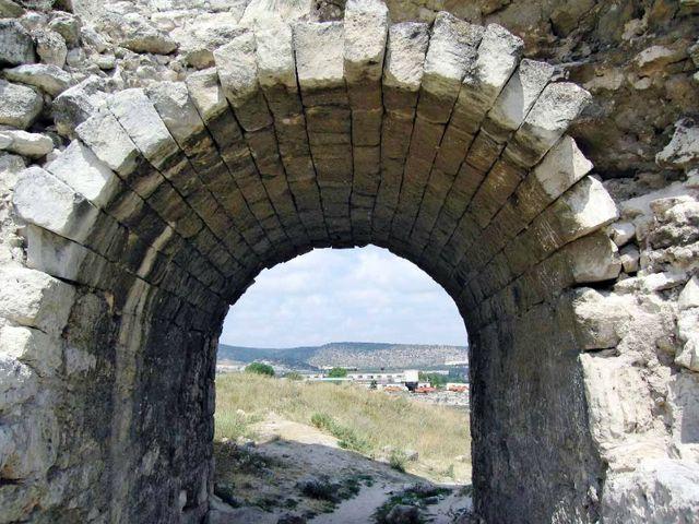 Развалины Каламитской крепости