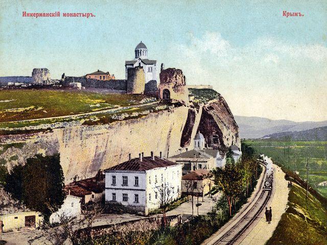 Инкерманский монастырь. Старое фото