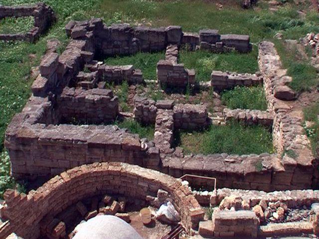 Руины крепости Кара-Тобе