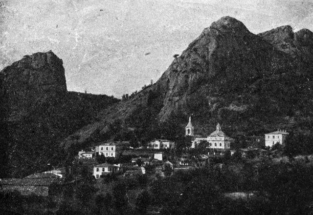 Монастырь святого Стефана Сурожского. Старинное фото