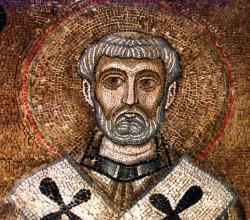 Св. Кемент - мозаика Киевского Собора Святой Софии XI в
