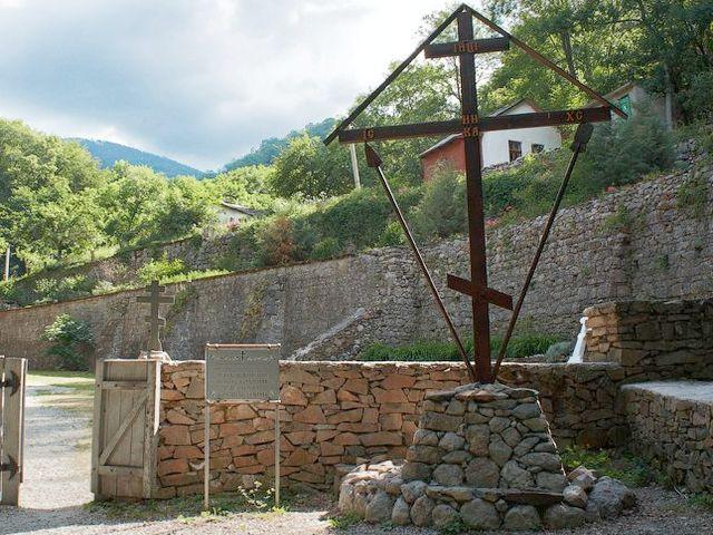 Косьмо-Дамиановский монастырь в Крыму