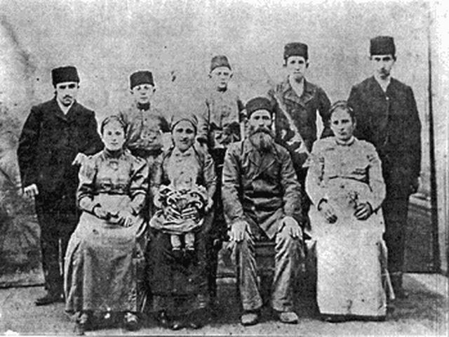 Крымчакская семья