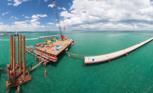 Крымский мост через Керченский пролив: последние новости