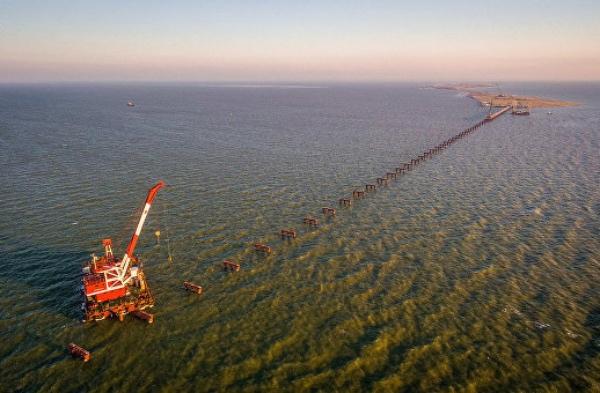Фото крымского моста через Керченский пролив