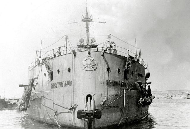 Корма корабля «Императрица Мария»
