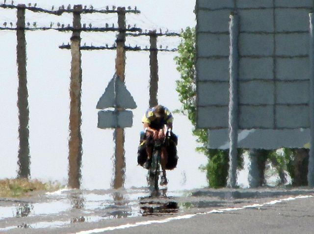 Виктор Лозовик на раскалённых дорогах Крыма