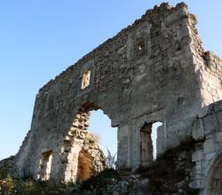 Руины крепости Мангуп