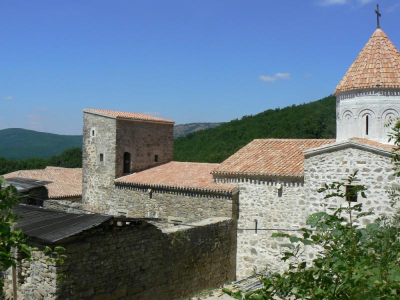 Монастырь Сурб-Хач Старый Крым