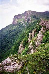 Горный массив Чатырдаг, плато