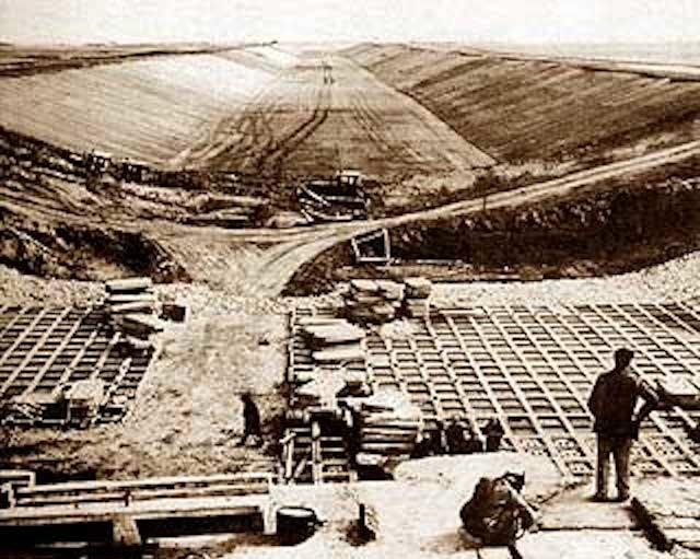 Строительство Северо-Крымского канала