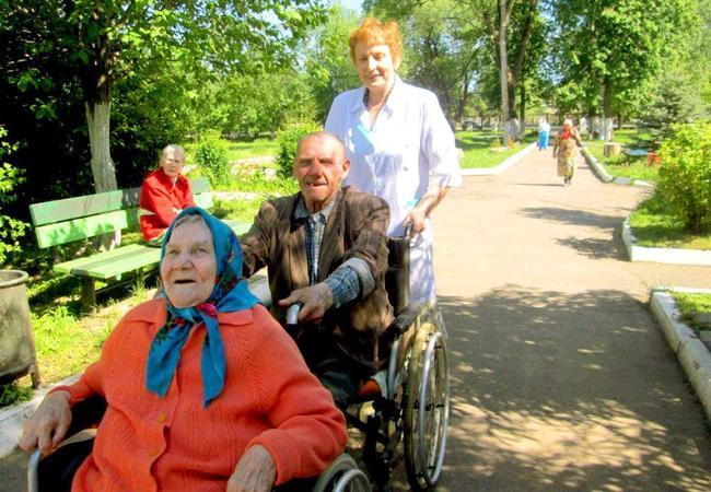 Частный пансионат для престарелых в Крыму