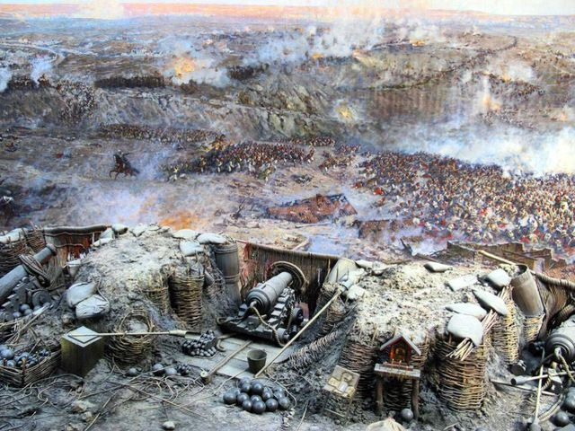 Фрагмент Севастопольской панорамы
