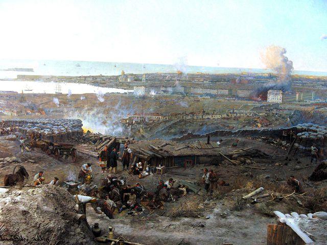 """Фрагмент Панорамы """"Оборона Севастополя 1854-1855гг"""""""