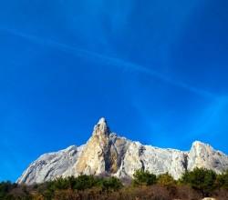 Гора Парсук-Кая в Солнечной Долине