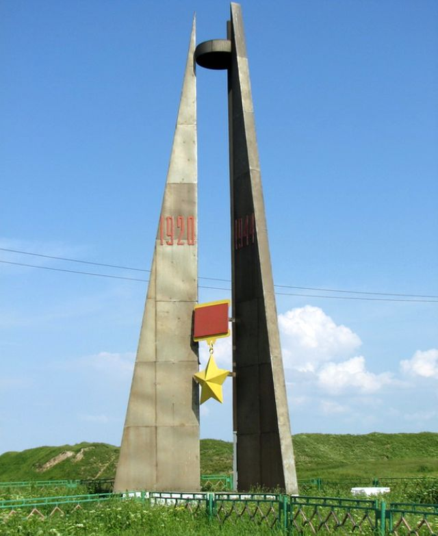 Памятник - Три штурма Прекопа